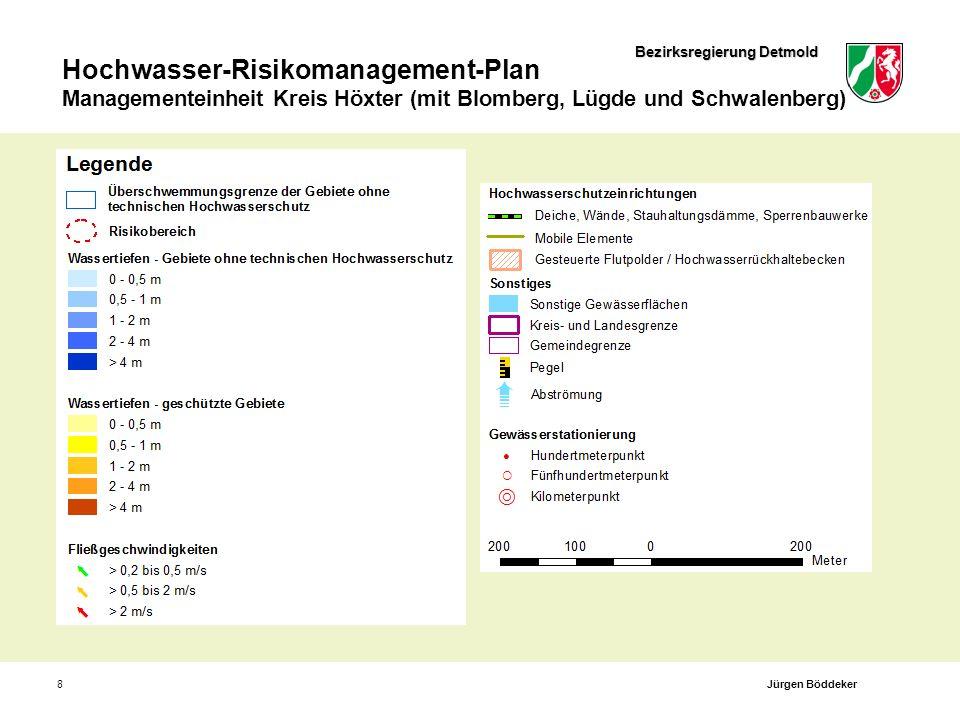 Bezirksregierung Detmold Hochwasser-Risikomanagement-Plan Managementeinheit Kreis Höxter (mit Blomberg, Lügde und Schwalenberg) 8Jürgen Böddeker