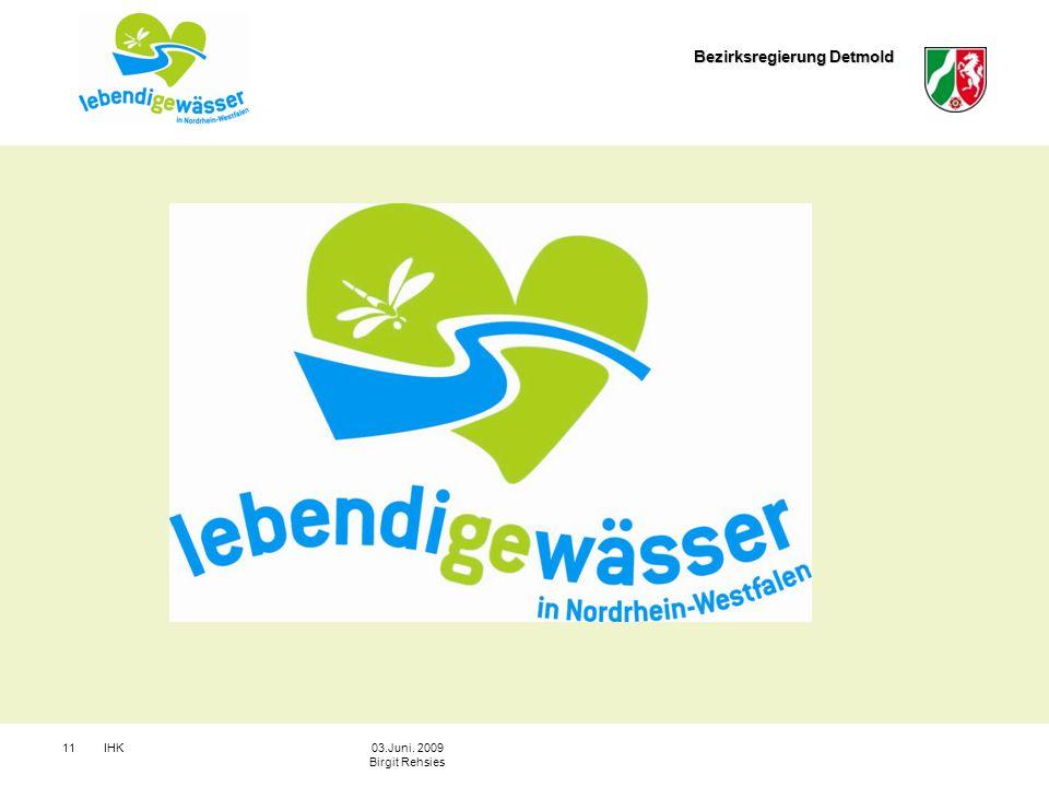 Bezirksregierung Detmold IHK1103.Juni. 2009 Birgit Rehsies