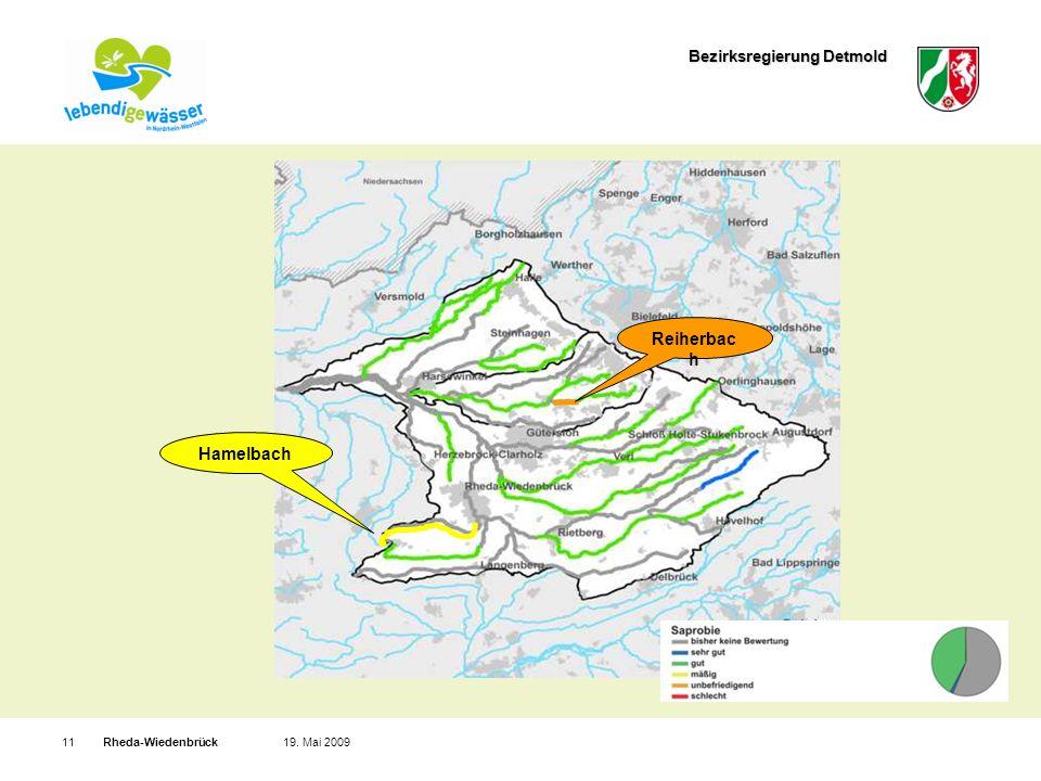 Bezirksregierung Detmold Rheda-Wiedenbrück1119. Mai 2009 Saprobie - biol.
