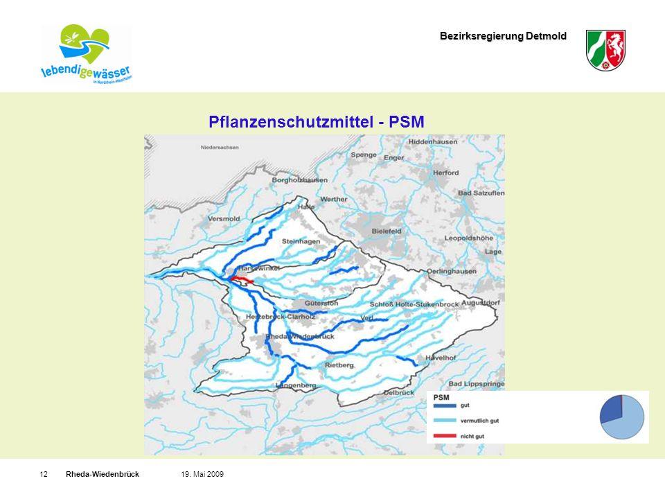 Bezirksregierung Detmold Rheda-Wiedenbrück1219. Mai 2009 Pflanzenschutzmittel - PSM
