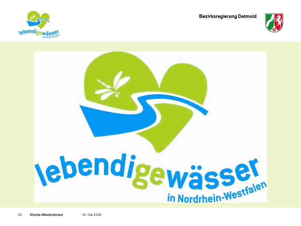 Bezirksregierung Detmold Rheda-Wiedenbrück2319. Mai 2009