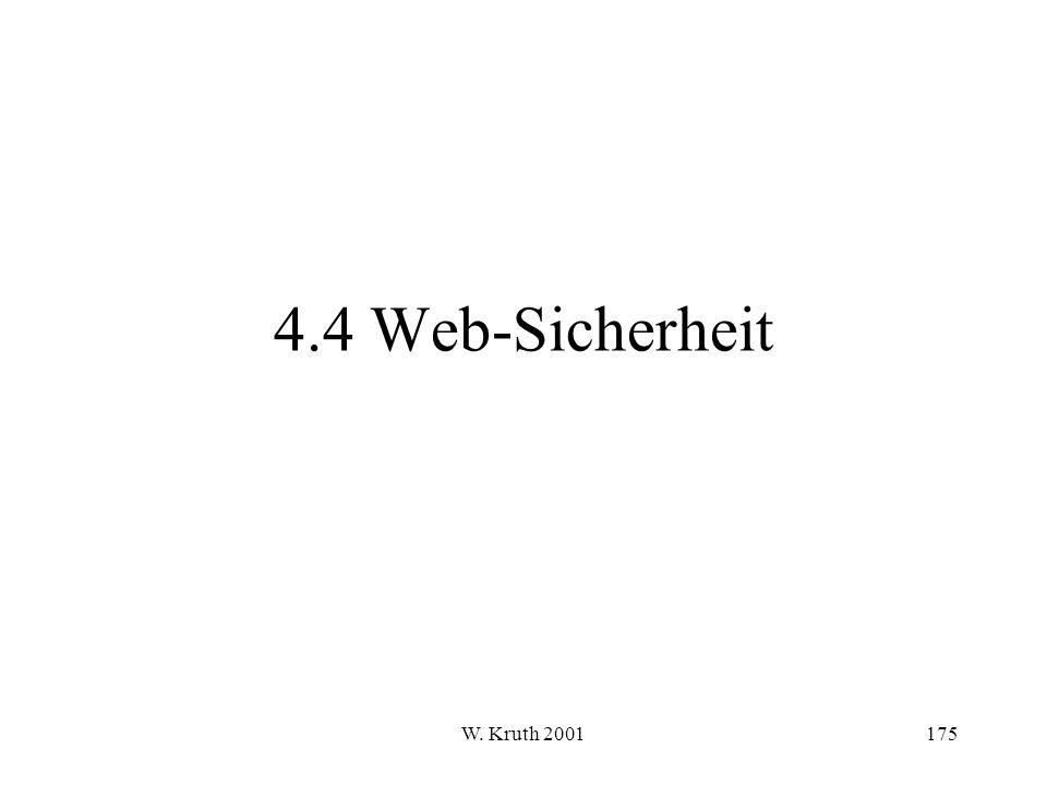 W. Kruth 2001175 4.4 Web-Sicherheit