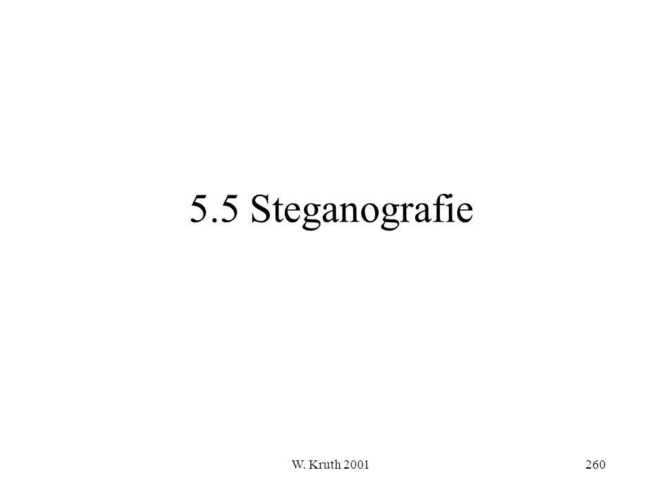 W. Kruth 2001260 5.5 Steganografie