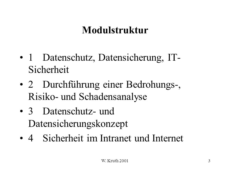 W. Kruth 2001284 6.4 Sicherer Zahlungsverkehr