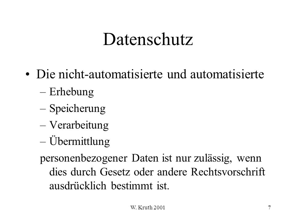 W.Kruth 2001198 Paketfilter Filterregeln-Parameter: Lfd.