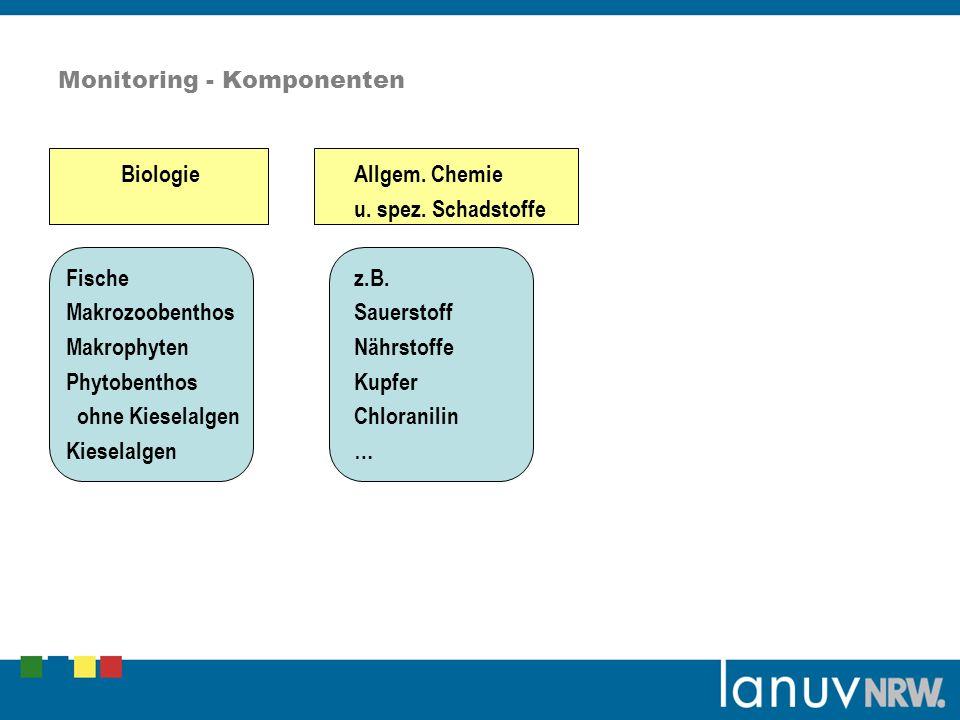 Monitoring - Komponenten BiologieAllgem.Chemie u.