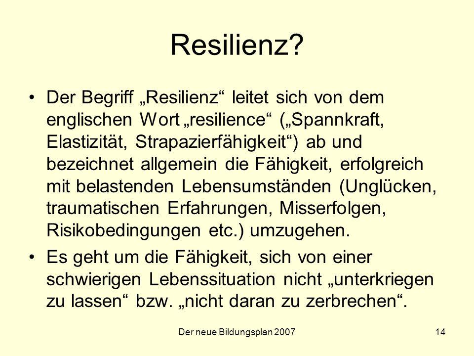 Der neue Bildungsplan 200714 Resilienz.