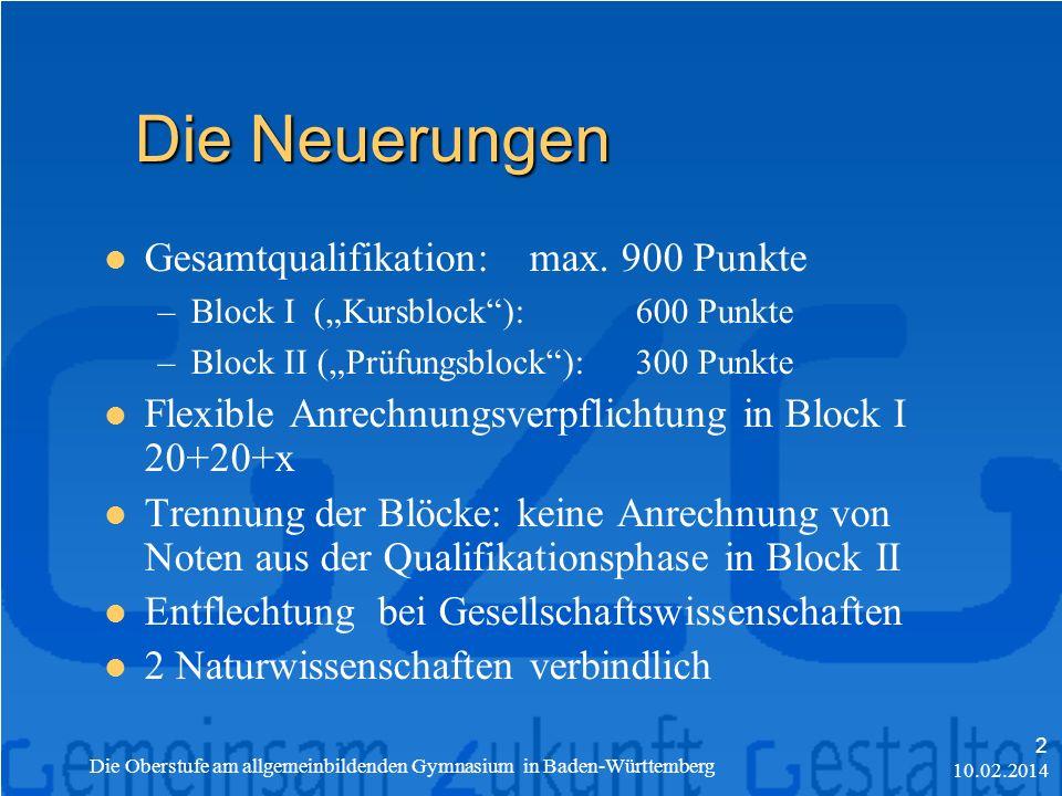 Gesamtqualifikation: max.