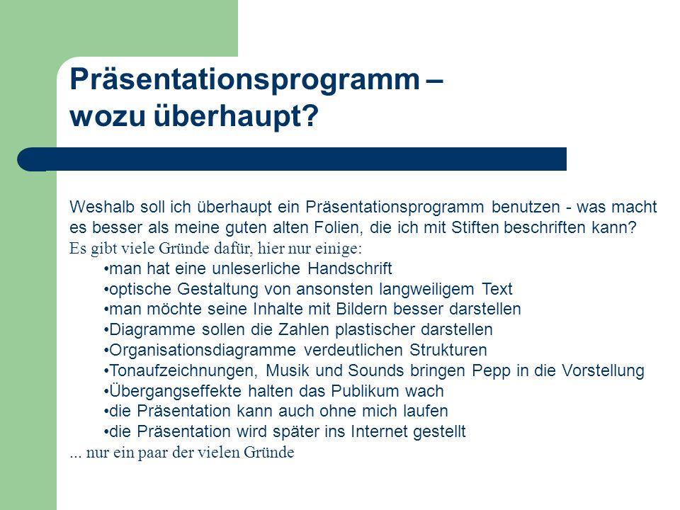 Teil-/ Vollbild Über das Schließfeld wird PowerPoint beendet.