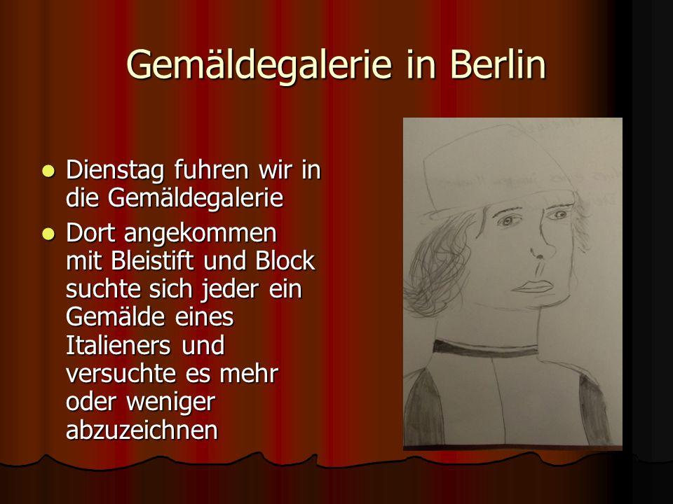 Gezeichnete Italiener nach Berlin Tag 2