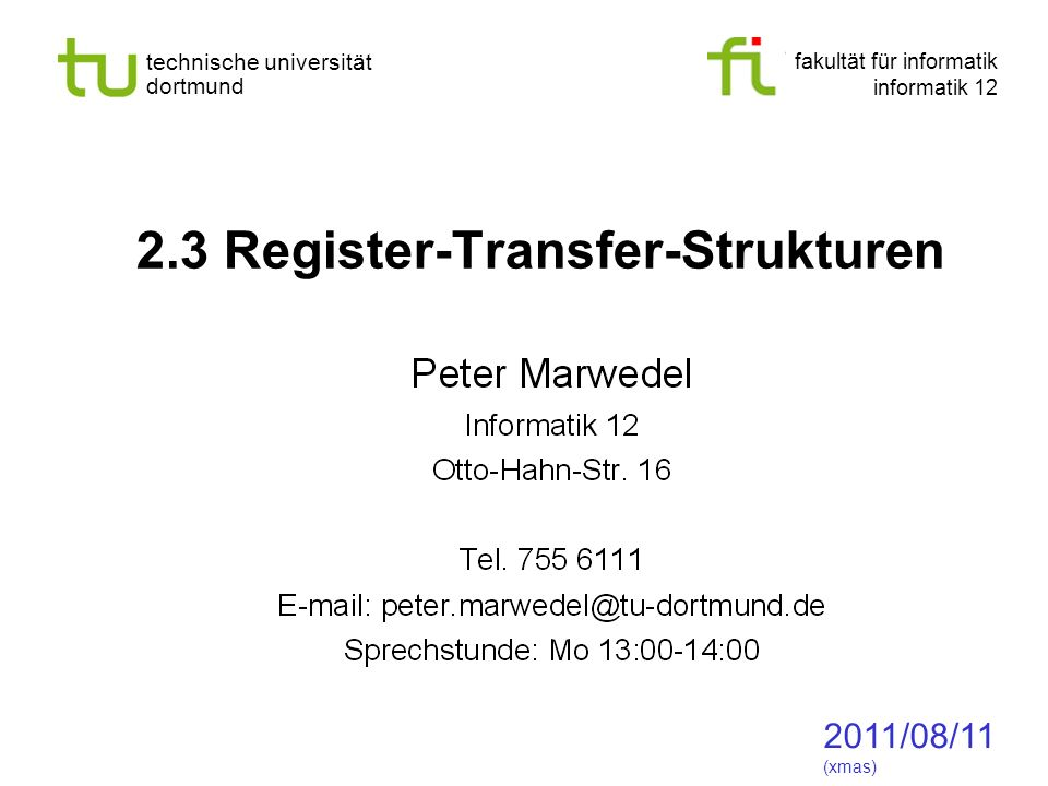- 72 - technische universität dortmund fakultät für informatik p.