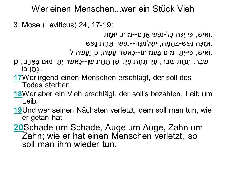 Der Versöhnungstag in der Bibel 3.