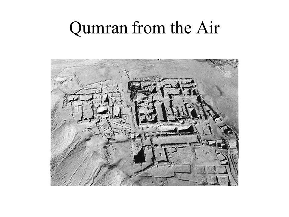 Qumran from the Air
