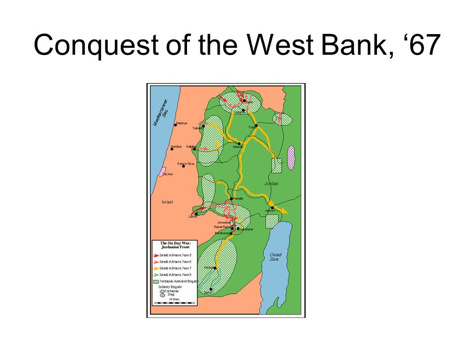 Conquest of the West Bank, 67
