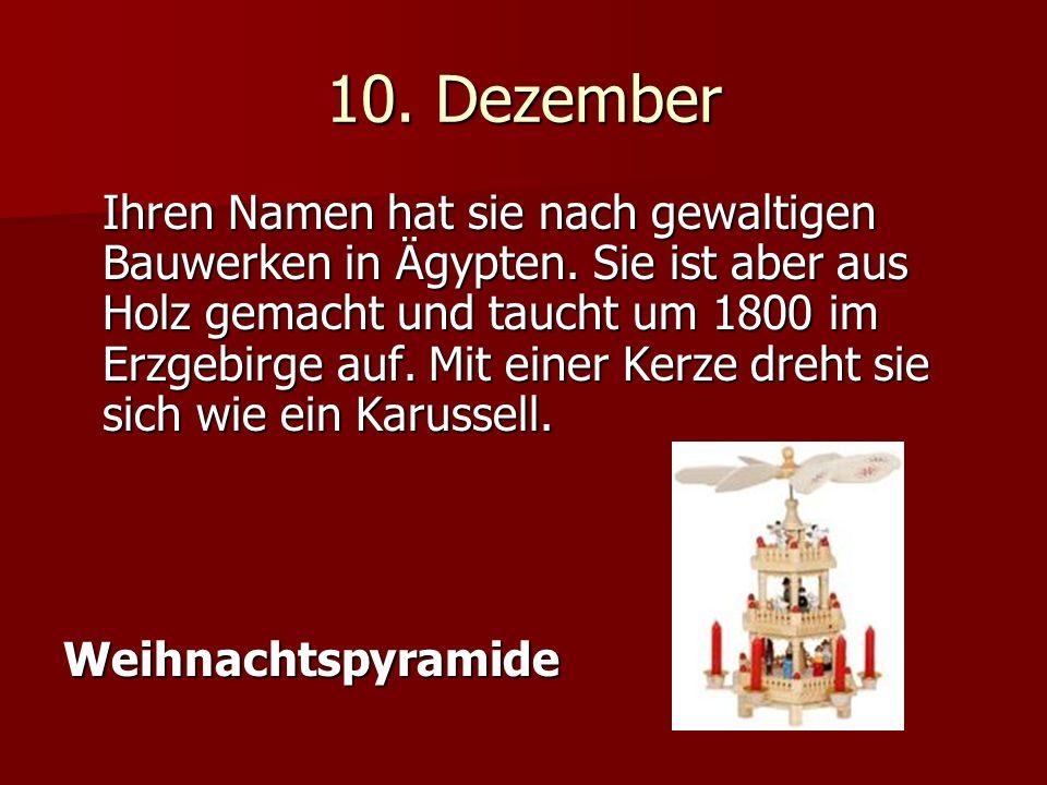 10.Dezember Ihren Namen hat sie nach gewaltigen Bauwerken in Ägypten.