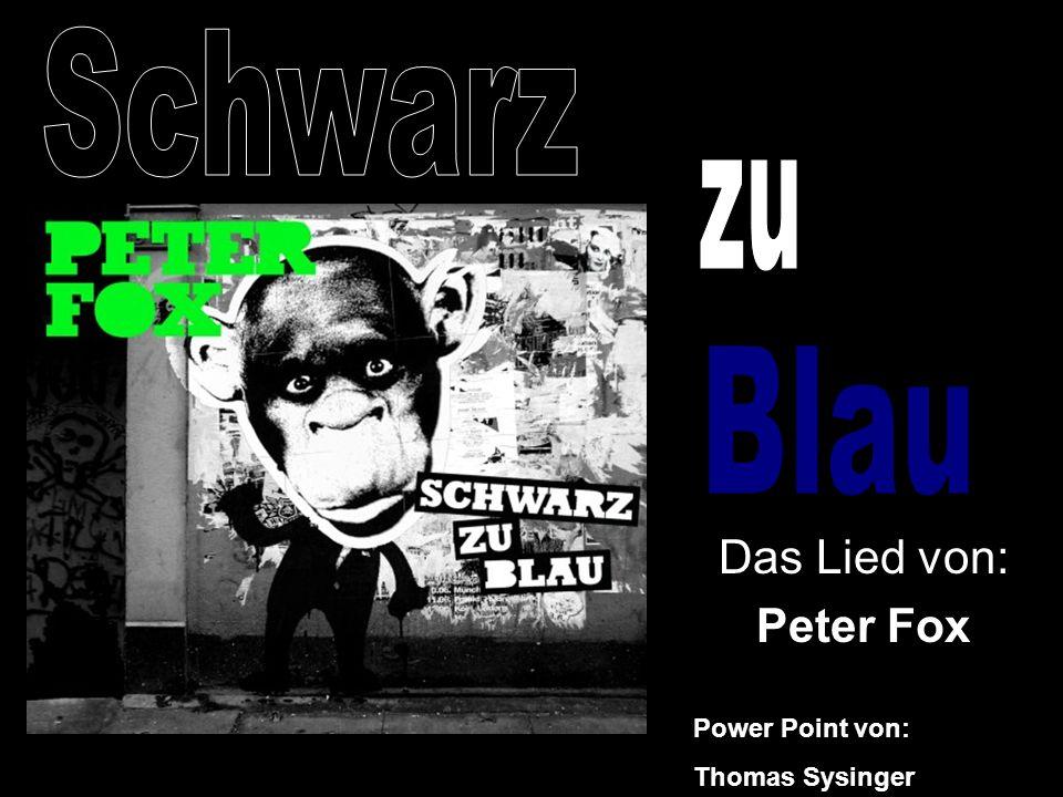 Das Lied von: Peter Fox Power Point von: Thomas Sysinger