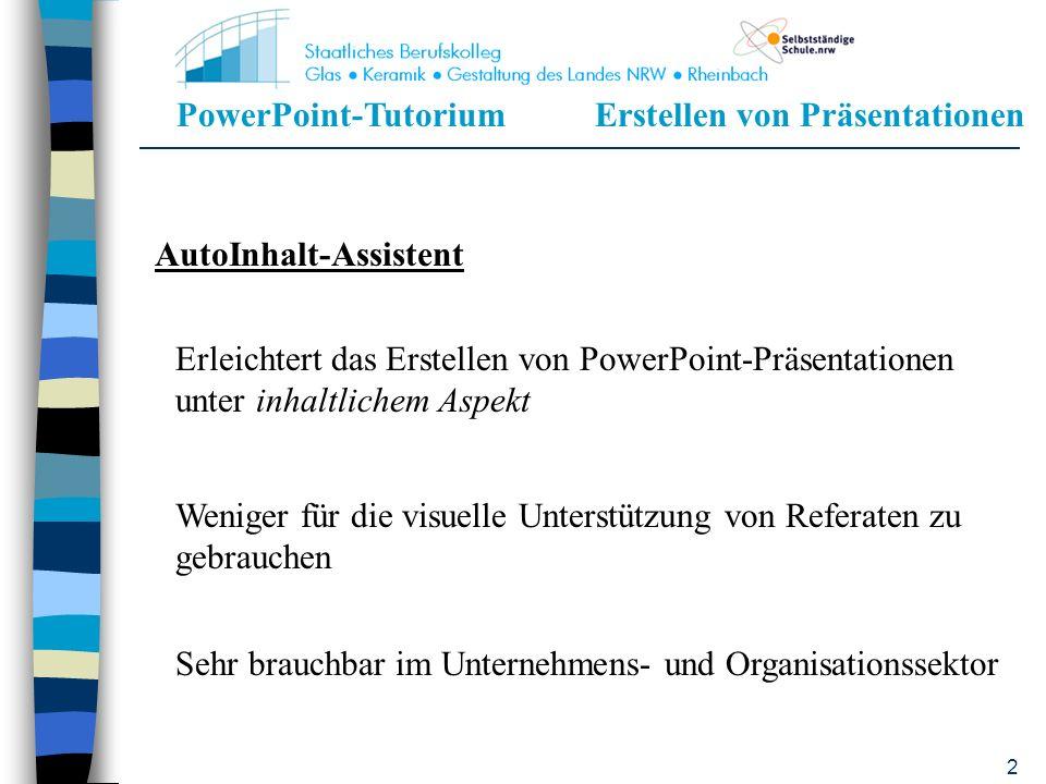 PowerPoint-TutoriumErstellen von Präsentationen 42