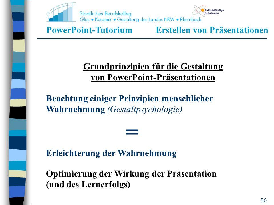PowerPoint-TutoriumErstellen von Präsentationen 49