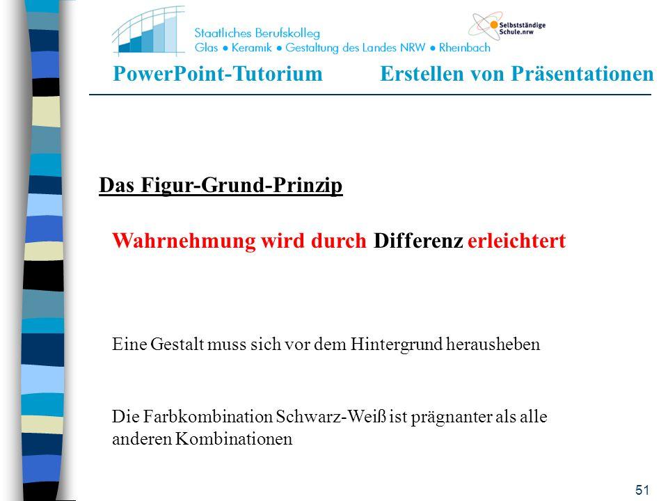 PowerPoint-TutoriumErstellen von Präsentationen 50 Grundprinzipien für die Gestaltung von PowerPoint-Präsentationen Beachtung einiger Prinzipien mensc