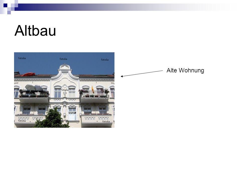 Altbau Alte Wohnung