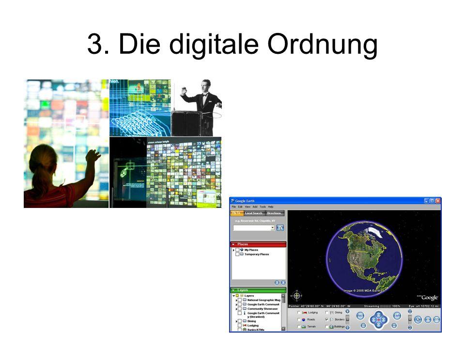 3. Die digitale Ordnung