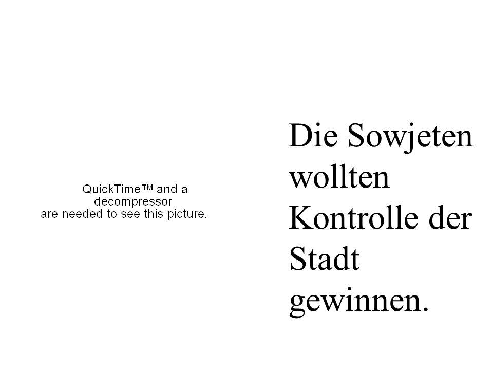 7.Oktober 1949 Die Sowjetunion schaffte die DDR.