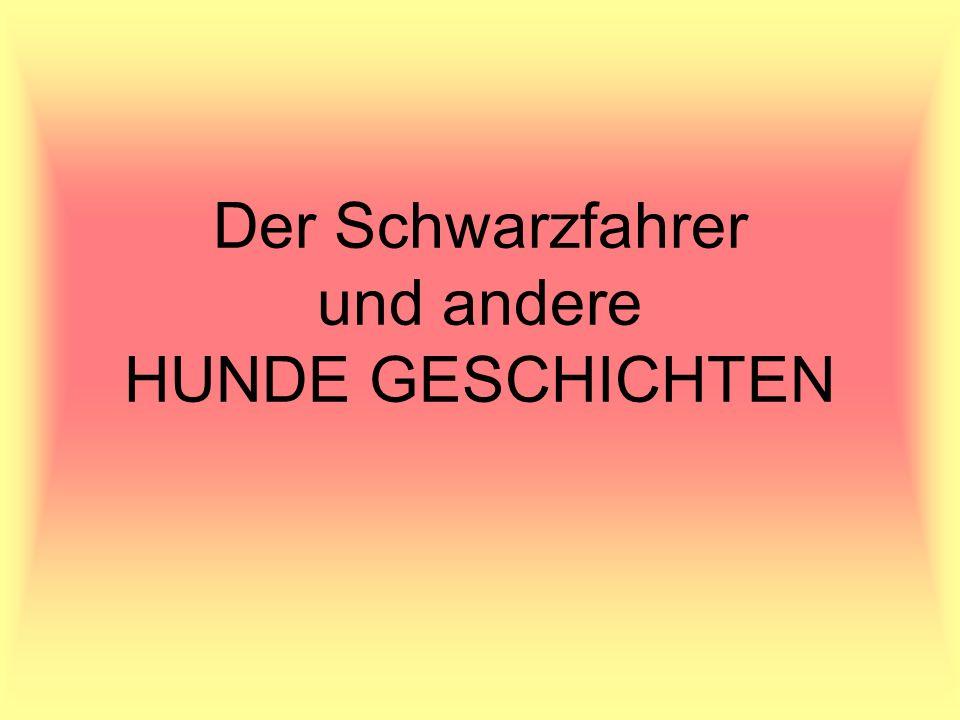 Der Schwarzfahrer Axel (schwarzer Cockerspaniel), Herr Brunner (Axels Besitzer), Nachbarin (passt auf Axel auf), Schaffner und der Direktor Axel entwickelt eine große Leidenschaft fürs Autobusfahren.