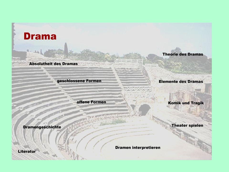 Fragen an das Drama (2) Geschlossen oder offen? Aufführungsmöglichkeiten.