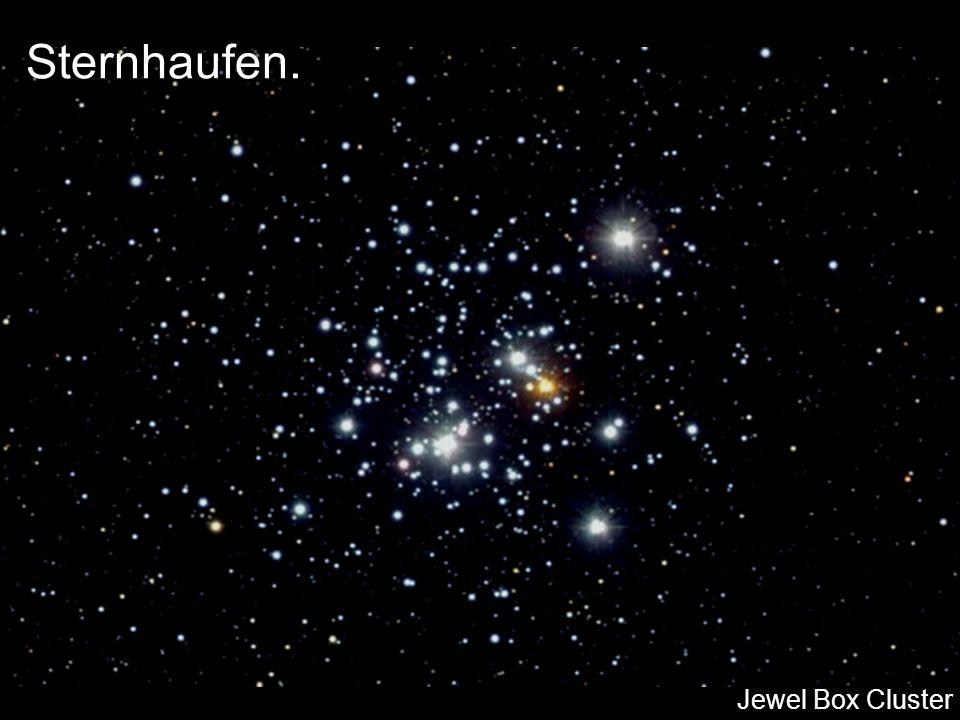 Sternhaufen. Jewel Box Cluster