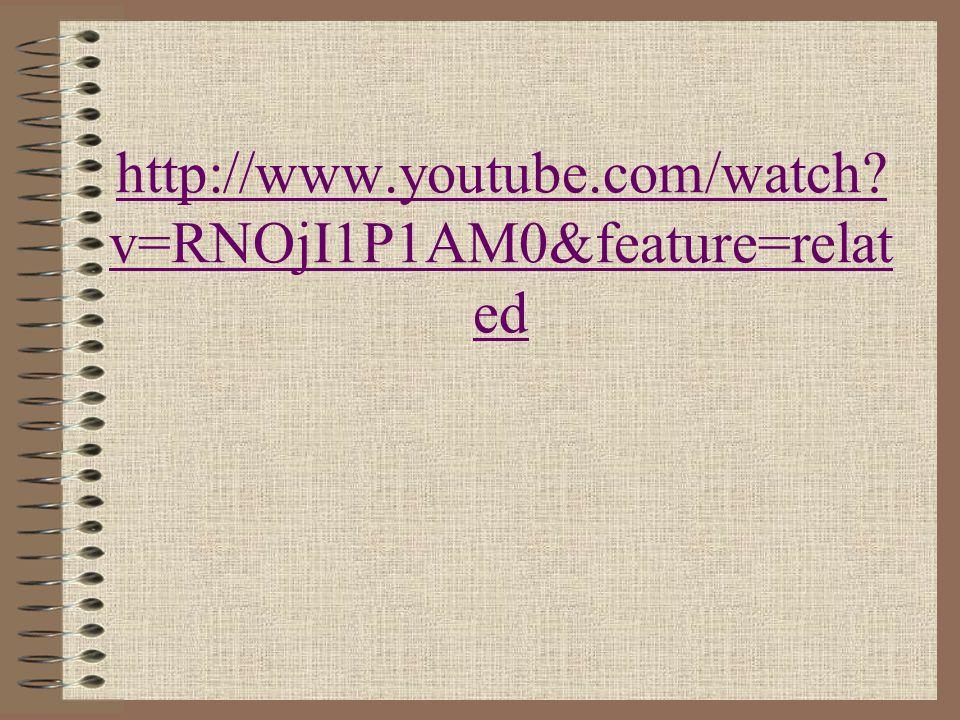 http://www.youtube.com/watch? v=RNOjI1P1AM0&feature=relat ed