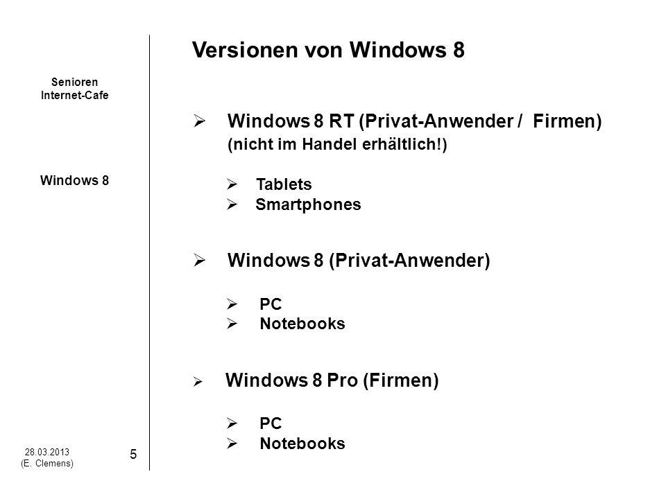 Senioren Internet-Cafe Windows 8 28.03.2013 (E.