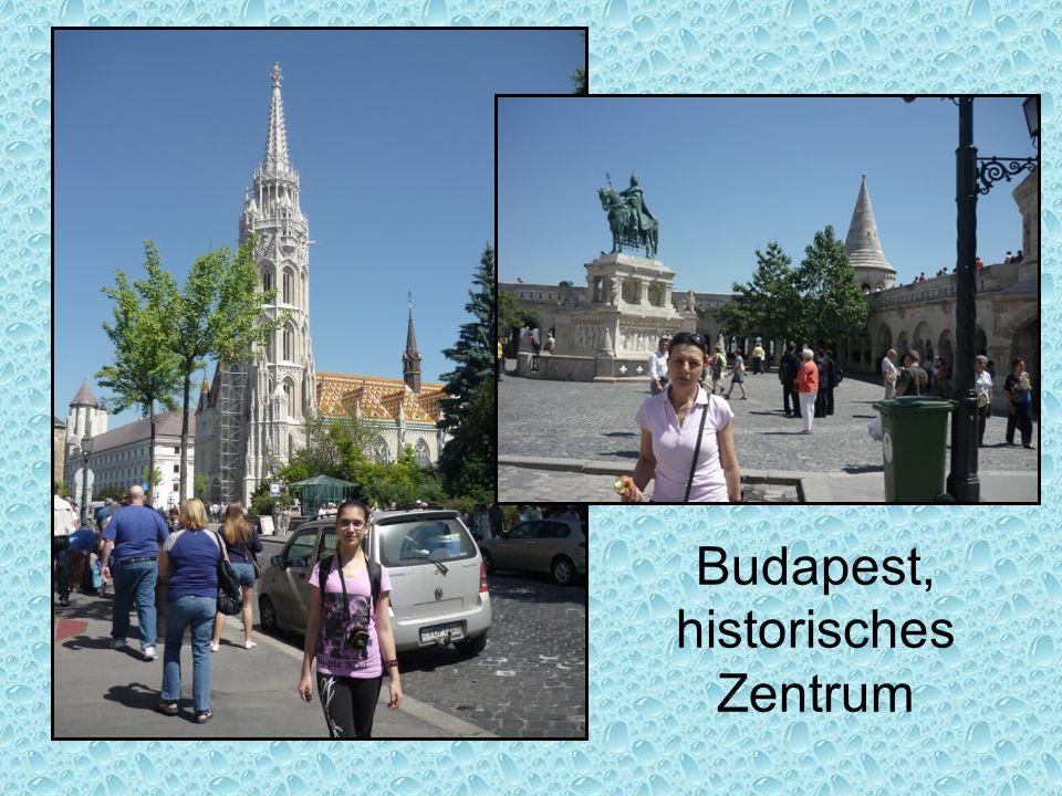 Budapest, historisches Zentrum