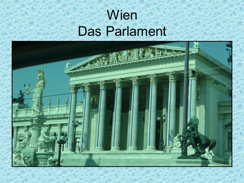 Wien Das Parlament