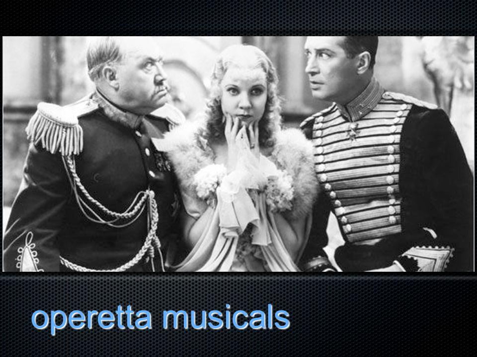 operetta musicals