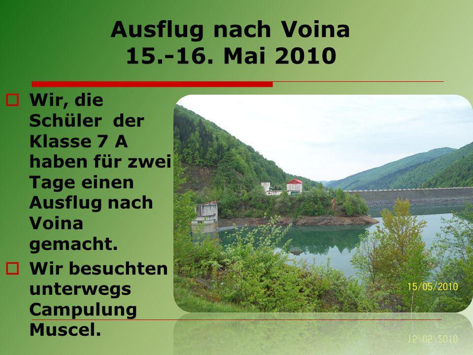 Ausflug nach Voina 15.-16.