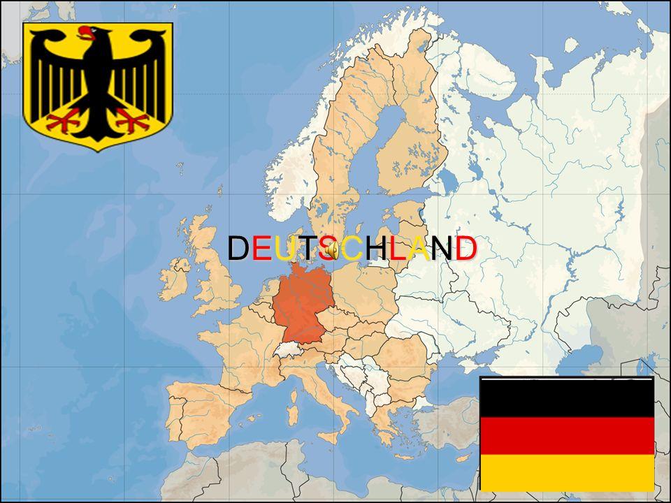 Die Bundesrepublik Deutschland liegt im Herzen Europas.