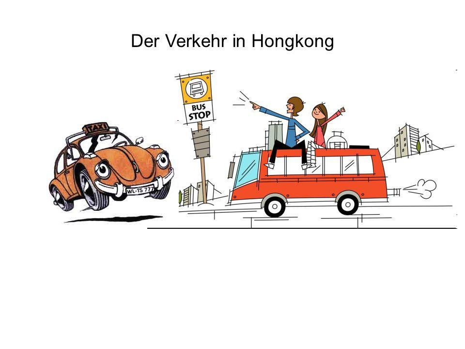 Der Verkehr in Hongkong