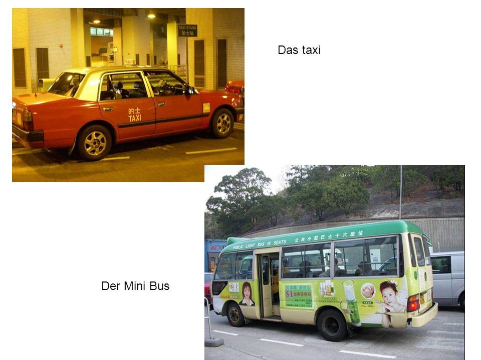 Der Mini Bus Das taxi