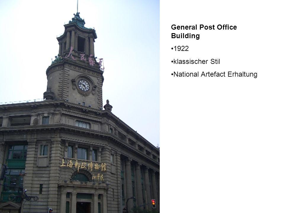 General Post Office Building 1922 klassischer Stil National Artefact Erhaltung