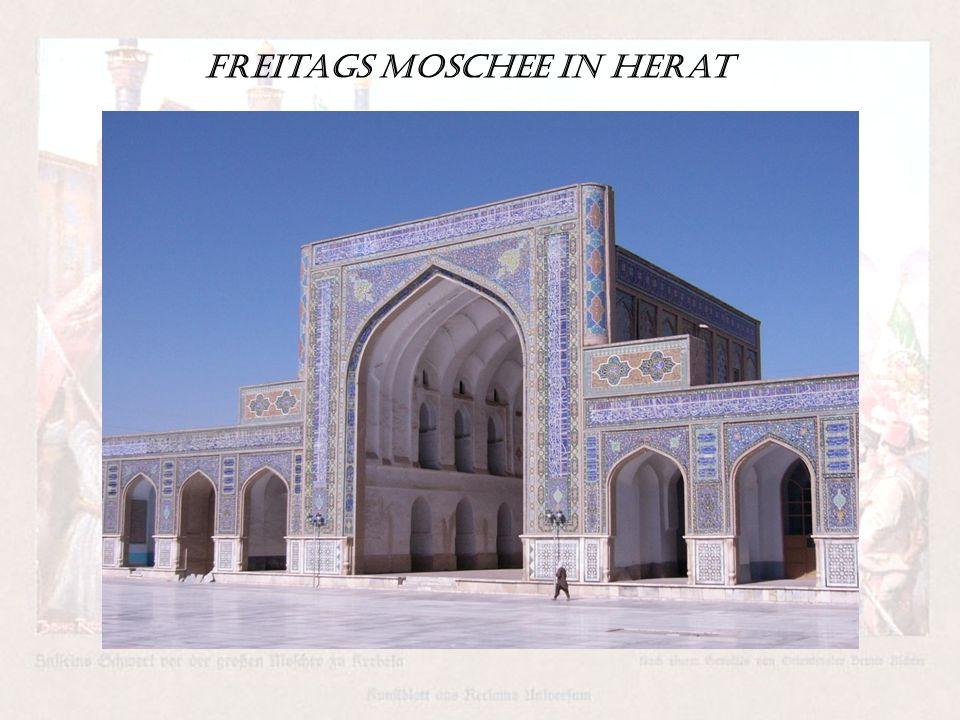Freitags Moschee in Herat