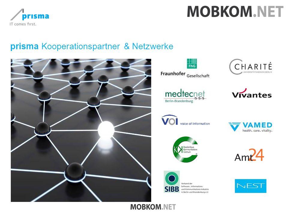 prisma Kooperationspartner & Netzwerke