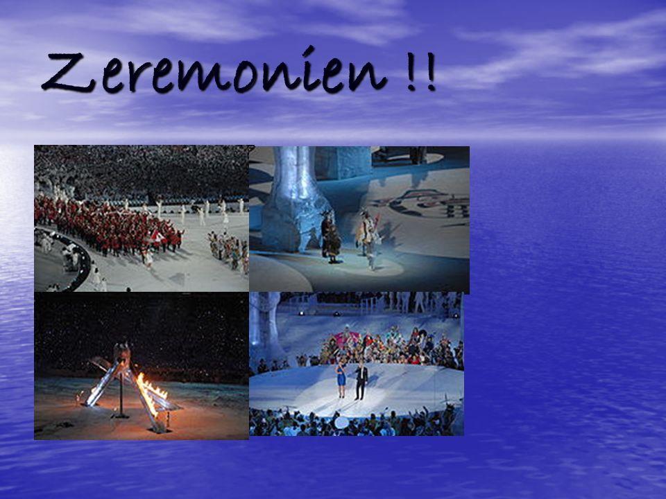 Zeremonien !!