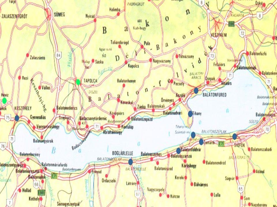 Fluss Zala größter Zufluss des Balatons 30 ständige und 20 periodische Wasserläufe werden vom Balaton gespeist Sió-Schleuse wurde erbaut um den Wasserstand regeln zu können
