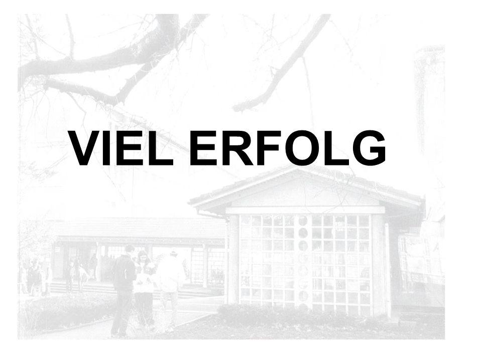 VIEL ERFOLG
