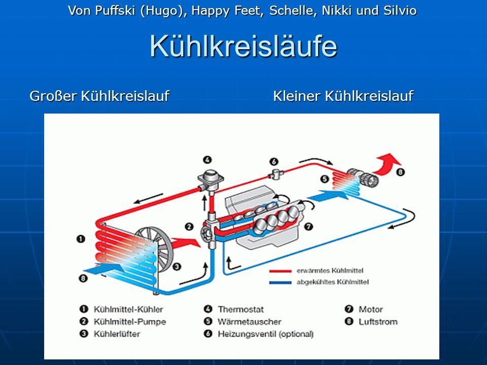 Kühlkreisläufe Großer KühlkreislaufKleiner Kühlkreislauf Von Puffski (Hugo), Happy Feet, Schelle, Nikki und Silvio