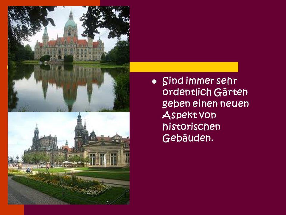 Noch heute bestimmen die Bauten aus Renaissance, Barock und 19.