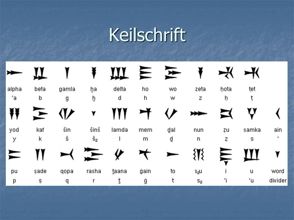 Keilschrift