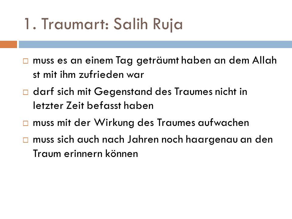 Salih Ruja: Eigenschaft der Propheten Aus der Prophetenschaft sind nur noch die Berichter geblieben.