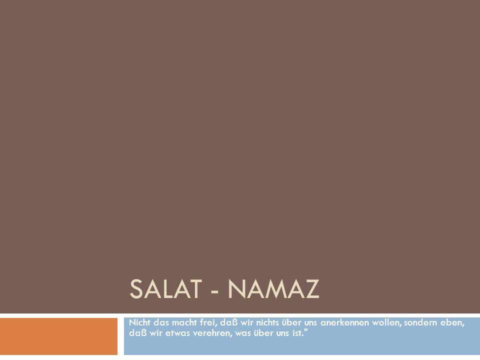 Schriftbesitzer Und ihnen wurde nicht geboten außer, daß sie ALLAH dienen - aufrichtig im Din Ihm gegenüber als Hanif - das rituelle Gebet ordnungsgemäß verrichten und die Zakat entrichten.