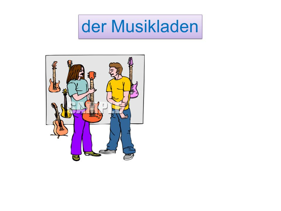 der M________ der Musikladen